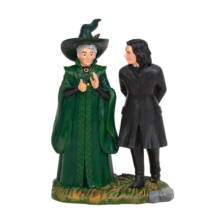 PRE-ORDER Enesco Snape & McGonagall