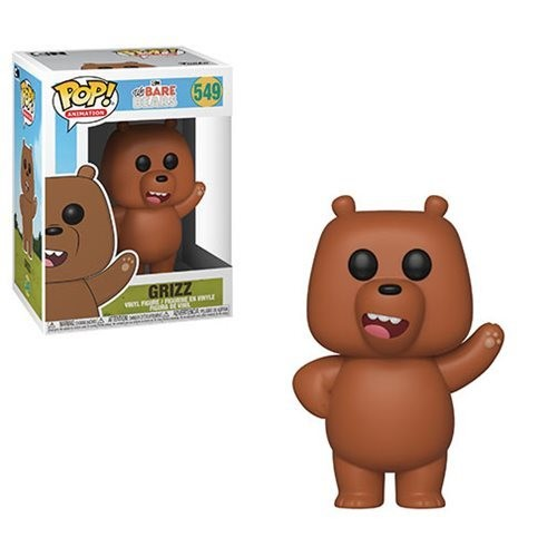 Funko We Bare Bears Grizz Pop! Vinyl Figure