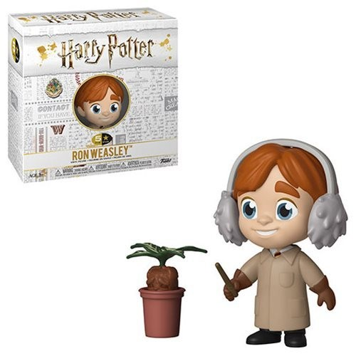 Funko Harry Potter Ron Weasley Herbology 5 Star Vinyl Figure