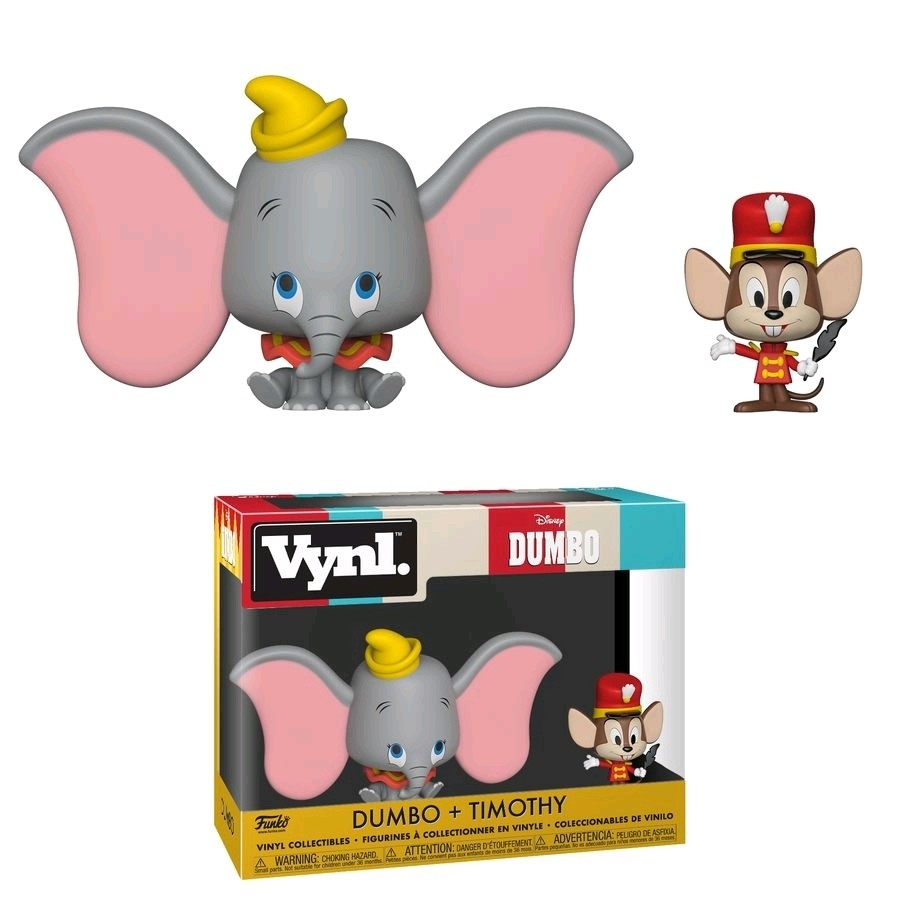 Funko Dumbo - Dumbo & Timothy Vynl.