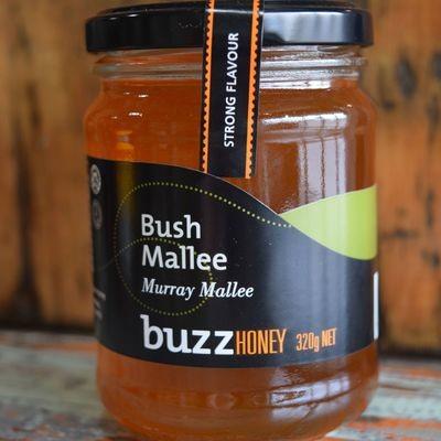 Bush Mallee Honey 320g Glass Jar
