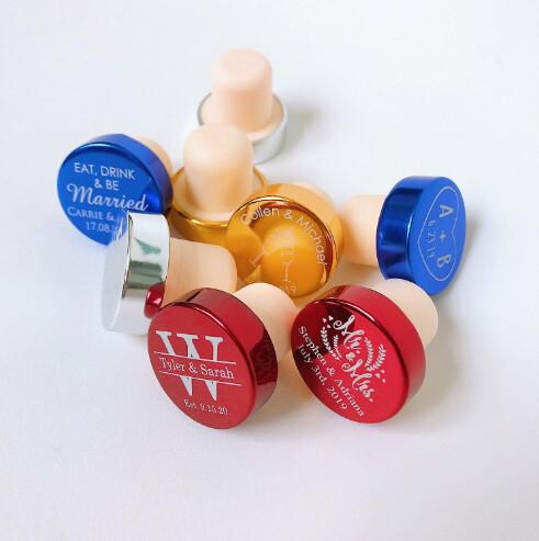 Recuerdos de Tapón para Botella de Vino Lumina (Set 50-100 unidades)