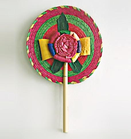 Abanicos Relieve de Palma / Relief Mexican Palm Fans (Set de 50-150)