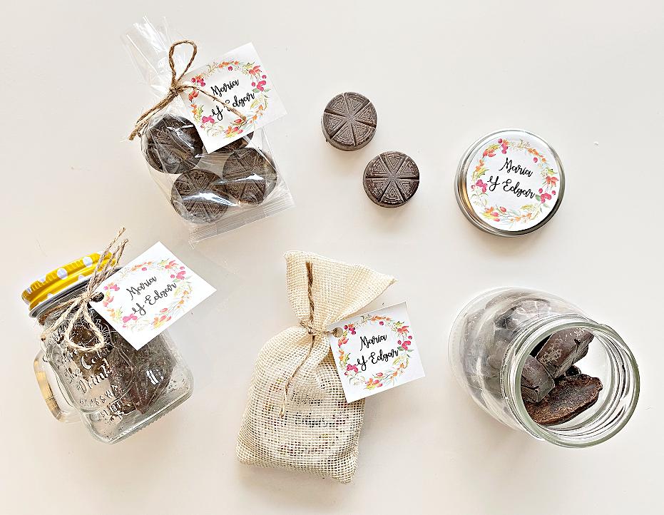 Chocolate de Mesa Artesanal Mexicano (Set de 10-150 unidades)