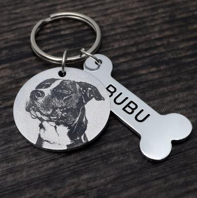 Collar Personalizado para Mascota con Hueso