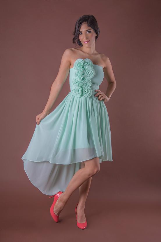 Vestido de Dama Ajulina