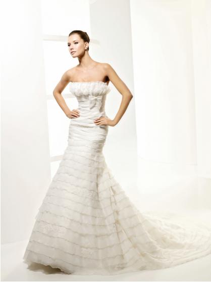 Vestido de Novia Usado La Sposa Barcelona / Talla 4-6