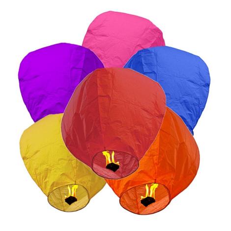 Globos de Cantoya (Set de 10-50 unidades)