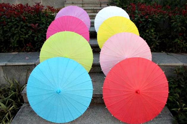 Sombrillas de Papel (Set de 50-100 unidades)