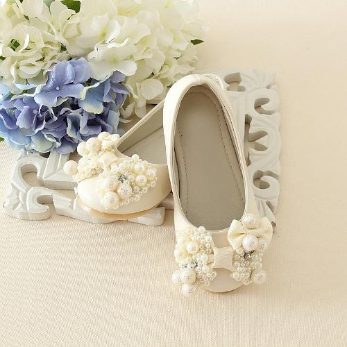 Zapatos para Paje Gali (Marfil y Rosa)