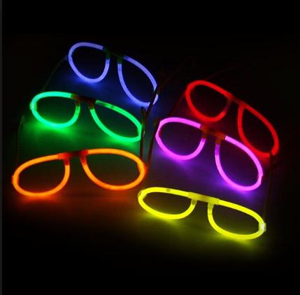 Lentes Fluorescentes de Fiesta