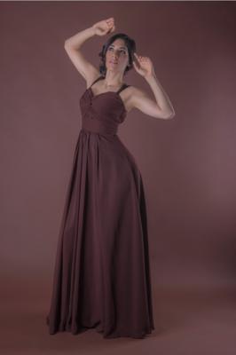 Vestido de Dama Aida