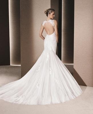 Vestido de Novia Usado La Sposa / Talla 4