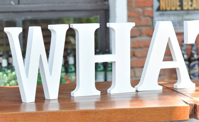 Set de Letras de Madera