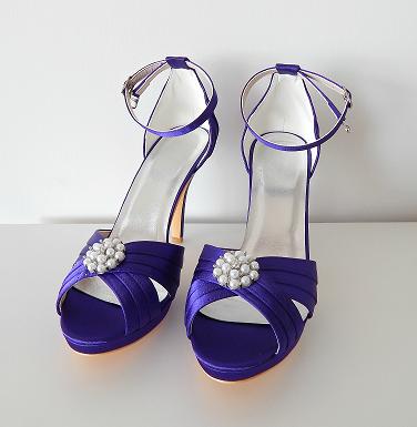 Zapatos Melba Morado No. 24