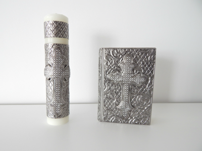Set Cirio y Biblia Macarena