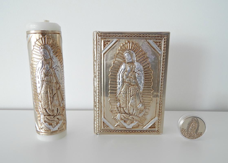 Set Cirio, Biblia y Rosario Guadalupe