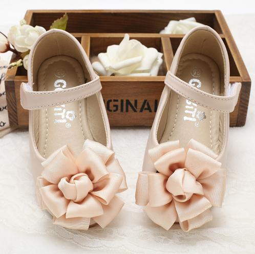 Zapatos para Paje Gabea (Beige y Rosa)