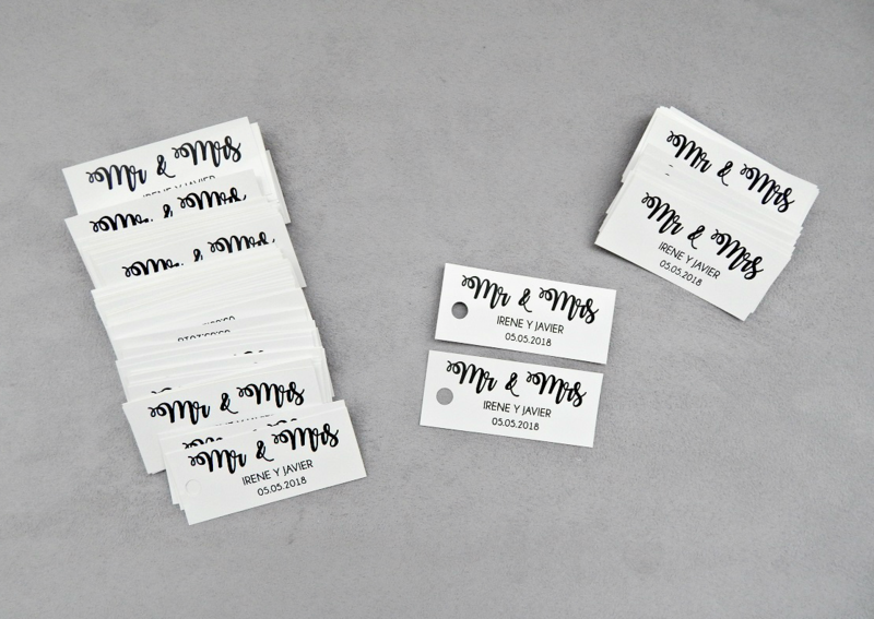 Etiquetas Daduria (Set de 50-150 unidades)