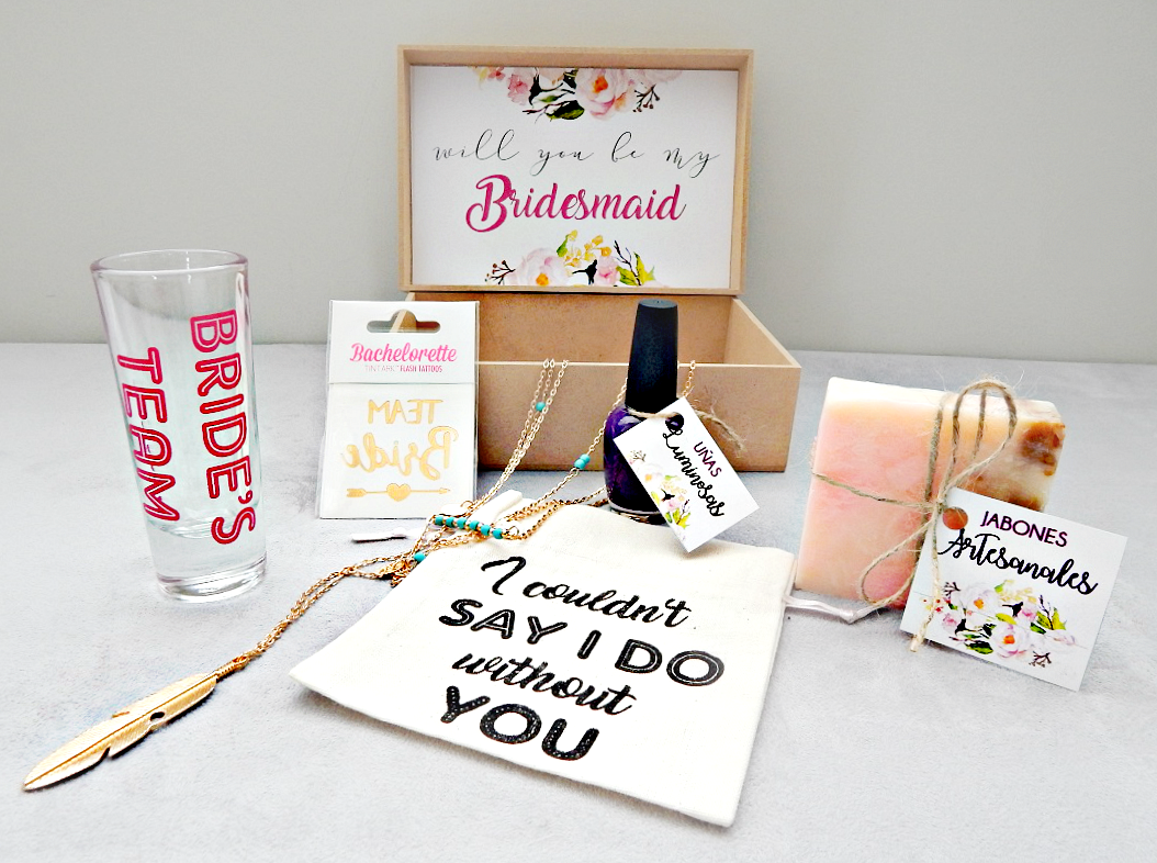 Bridesmaid Box / Kit para las Damas