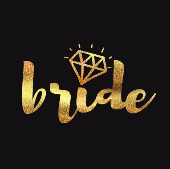 Tatuaje para Despedida Bride y Team Bride