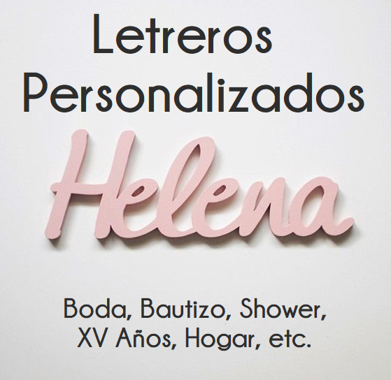 Letreros de Madera Personalizados: DANOS TU IDEA