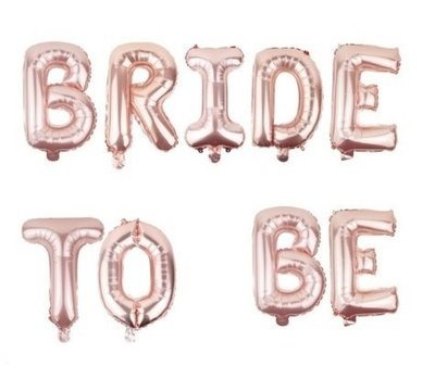 Globos Bride to Be