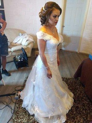 Vestido de Novia Usado Baracci / Talla 10