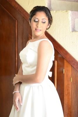 Vestido de Novia Usado Diseñador Enrique Barrios / Talla 4
