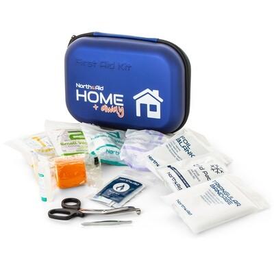Førstehjælps kit til hjemmet og turen