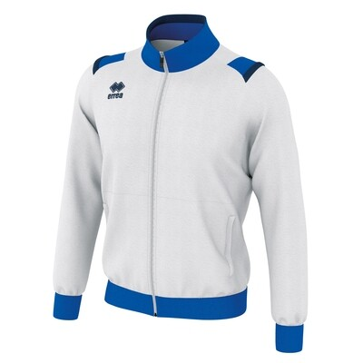 LOU Fullzipped Sweatshirt Hvid/Blå/Navy