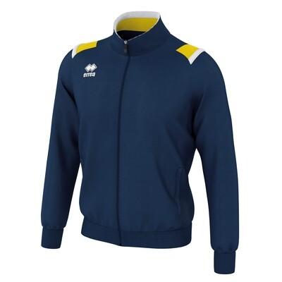 LOU Fullzipped Sweatshirt Navy/Gul/Hvid