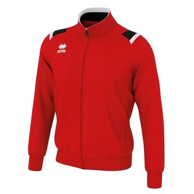 LOU Fullzipped Sweatshirt Rød/Sort/Hvid