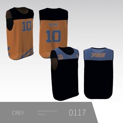 CREV - Vendbar trænings trøje uden ærmer UNISEX