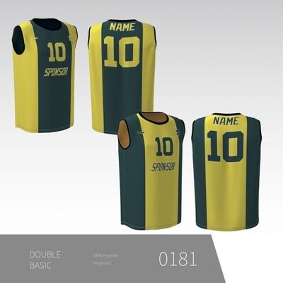 DOUBLE Basic - Vendbar trænings trøje uden ærmer UNISEX