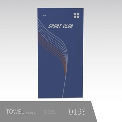 Håndklæde 50*100