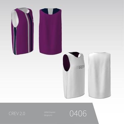 CREV - Vendbar trænings trøje uden ærmer UNISEX 2.0