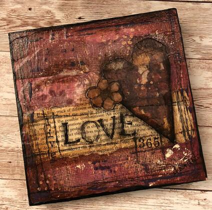 """Love 365"" 6x6 Clearance Original"