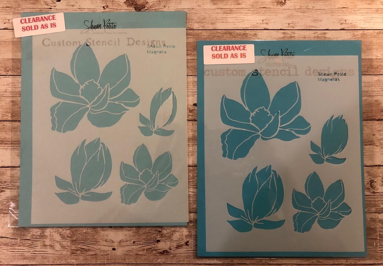 Magnolias stencil clearance