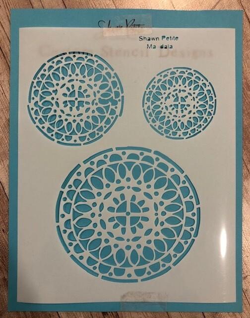Mandala stencil clearance