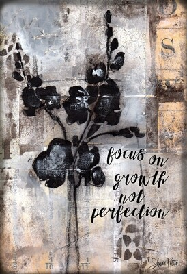 """""""Focus on Growth"""" Print on Wood and Print to be Framed"""