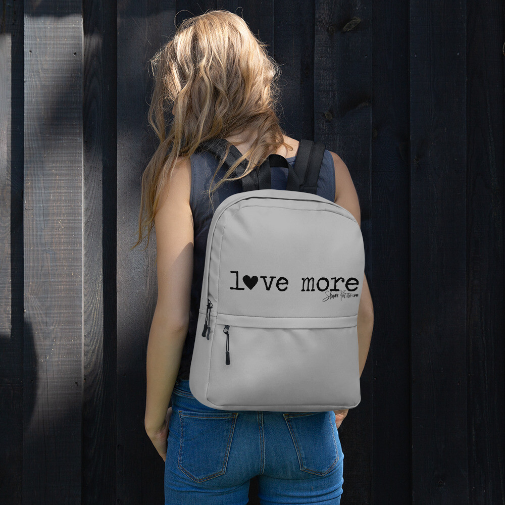 """Love More"" Backpack"
