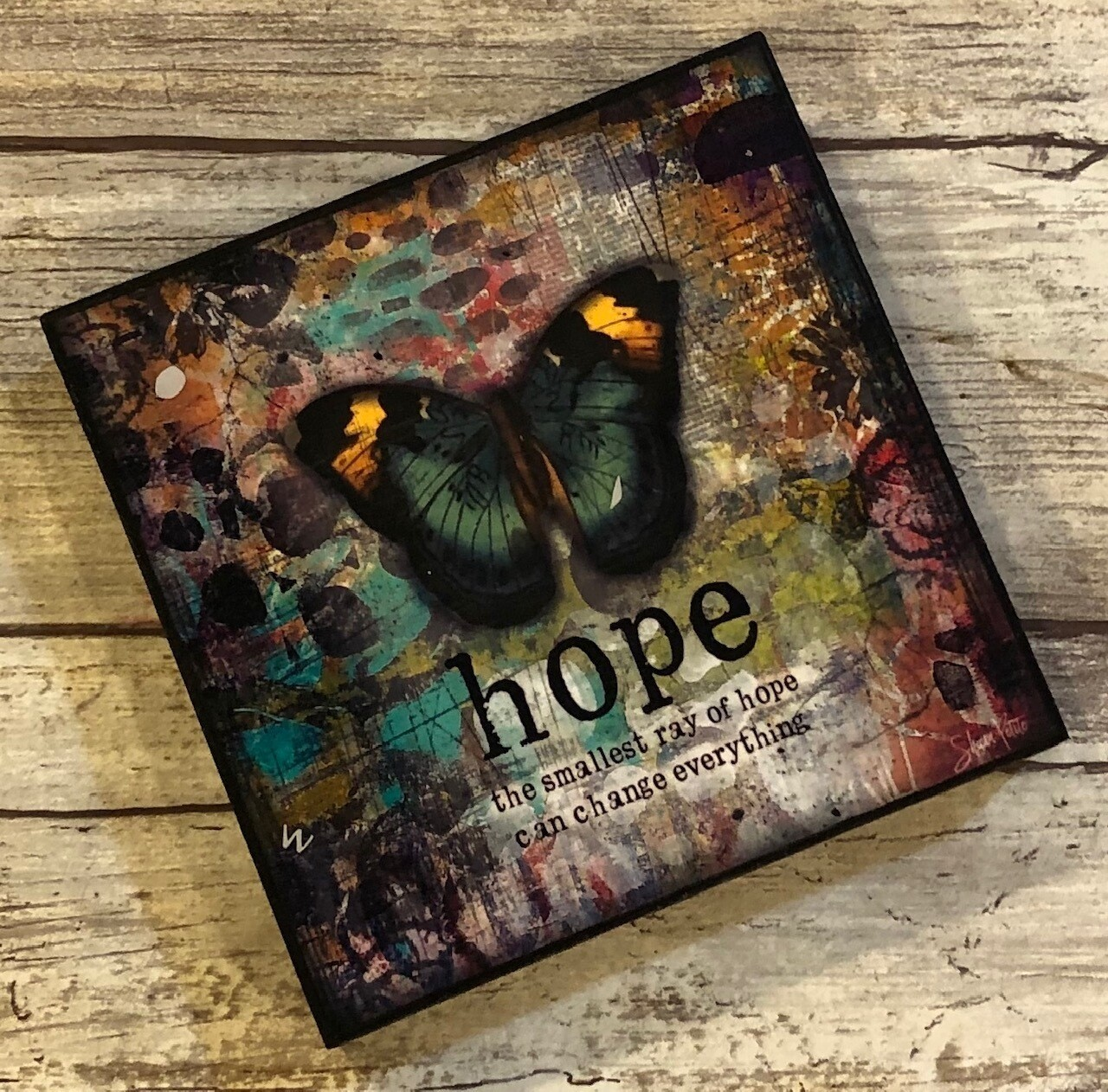 """""""Hope the smallest ray of Hope"""" 4x4 Clearance"""