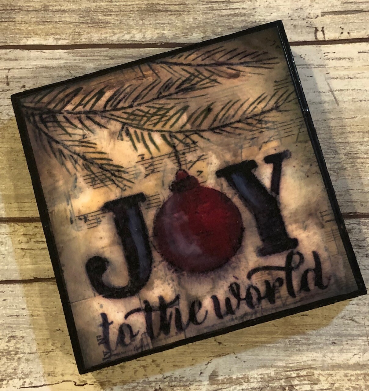 """""""Joy to the World"""" 4x4 Clearance"""