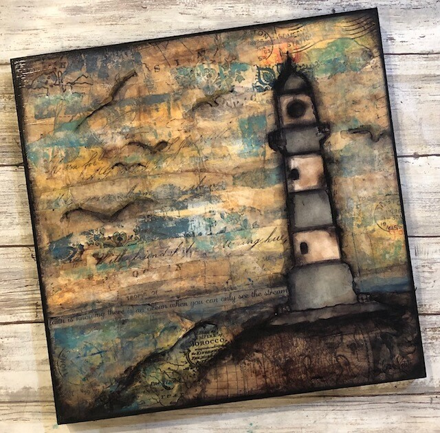 """The Stream"" lighthouse 4x4  clearance"