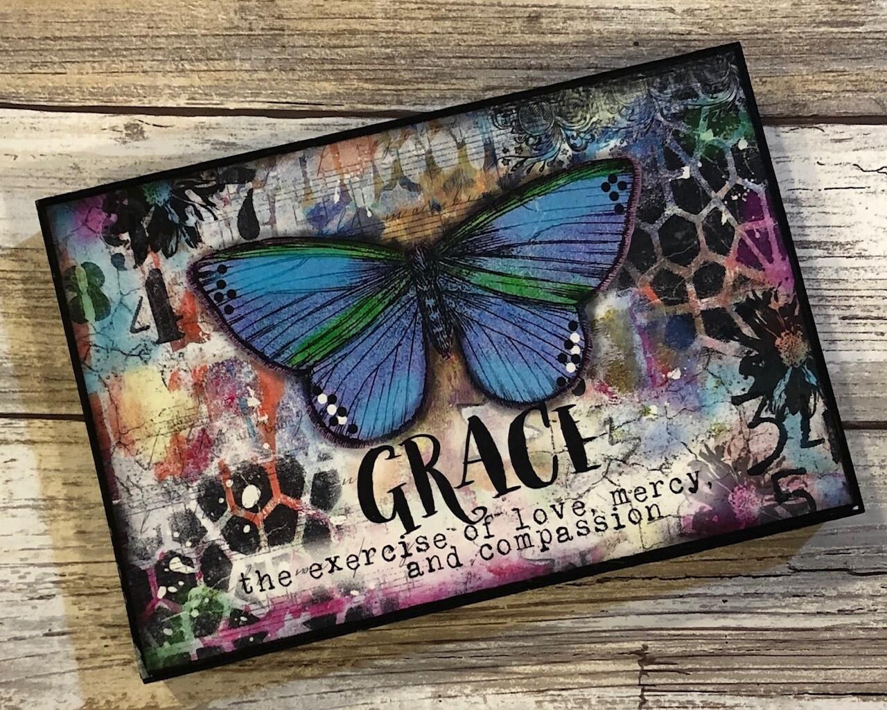 """Grace"" butterfly 4x6 Clearance"