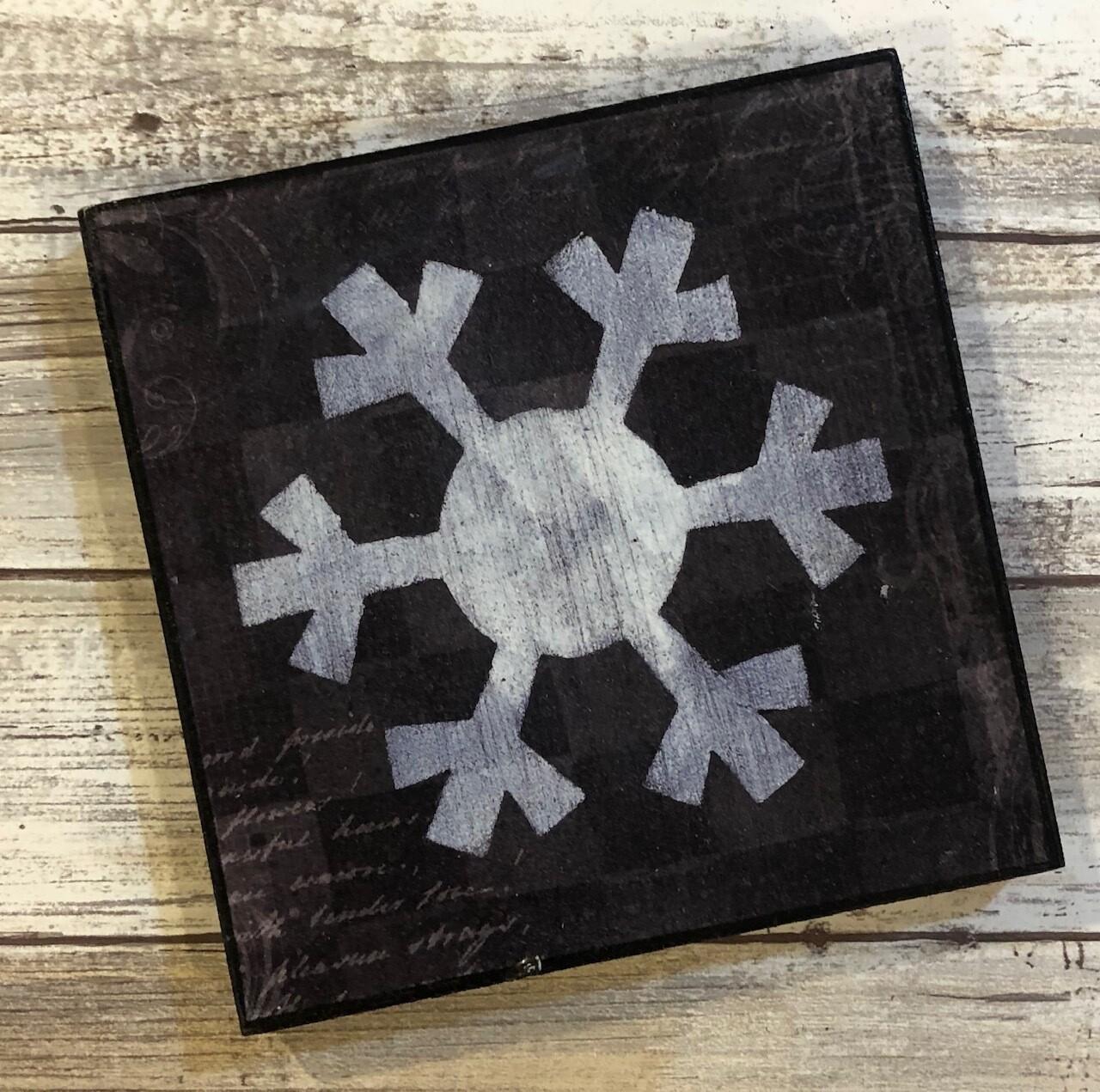 """Snowflake"" 6x6 clearance"