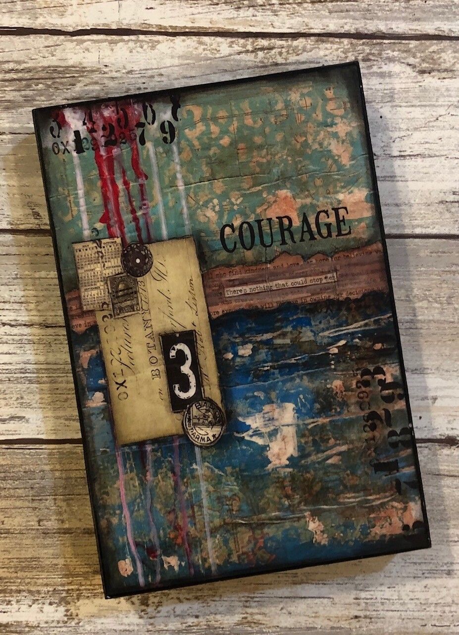 """""""Courage"""" 4x6 clearance"""