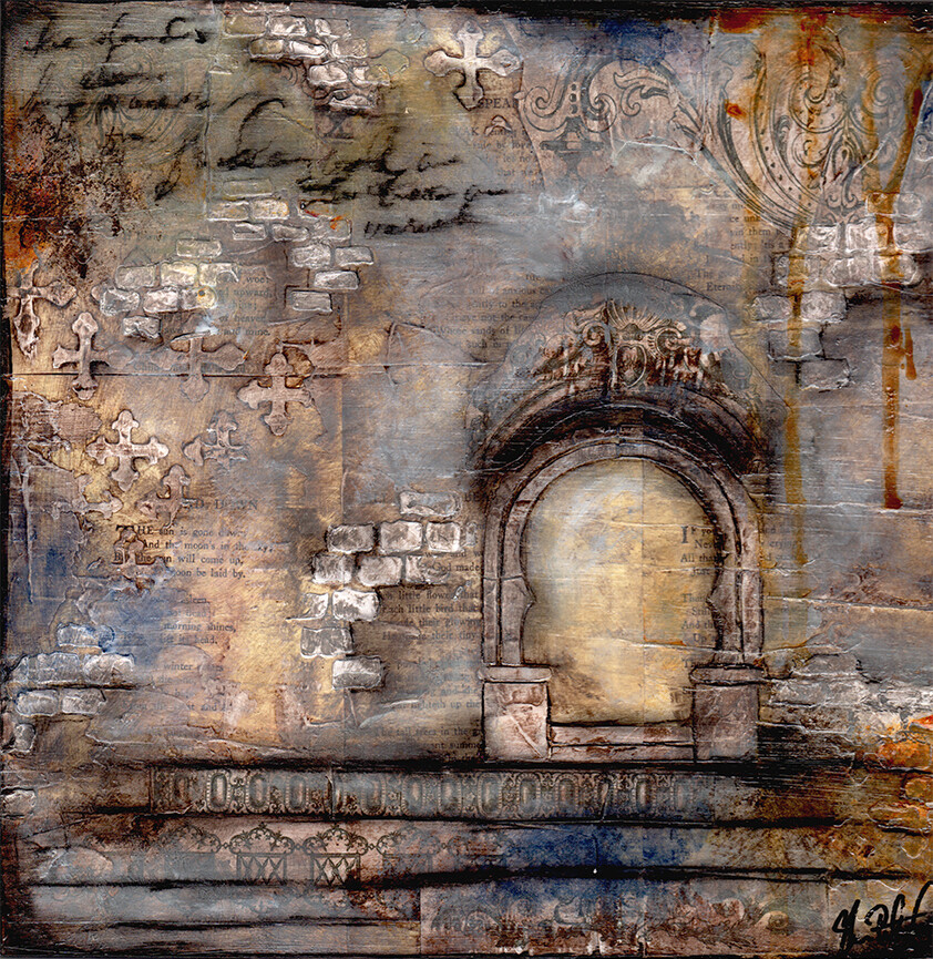 """""""Calm"""" arches Print on Wood and Print to be Framed"""