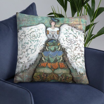 Angle of Transformation Basic Pillow